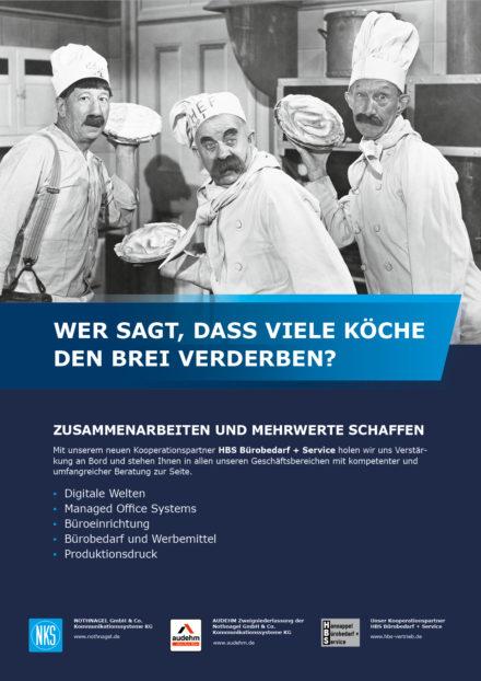 Neue Kooperationsvereinbarung mit HBS Bürobedarf & Service aus Rüsselsheim