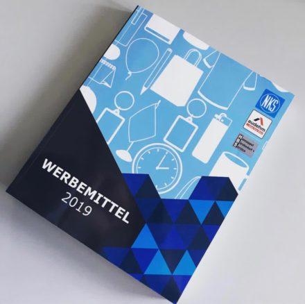 Werbemittel-Katalog 2019 eingetroffen